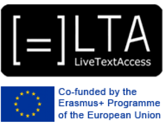 Live Text Access and Co-funded by the Erasmus + Programme of the European Union Logo