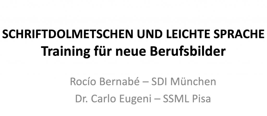 BDÜ Conference in Bonn.  Übersetzen und Dolmetschen 4.0